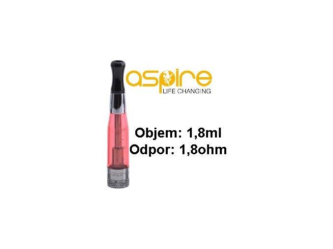 aSpire CE5 BDC Clearomizer 1,8ohm 1,8ml Red