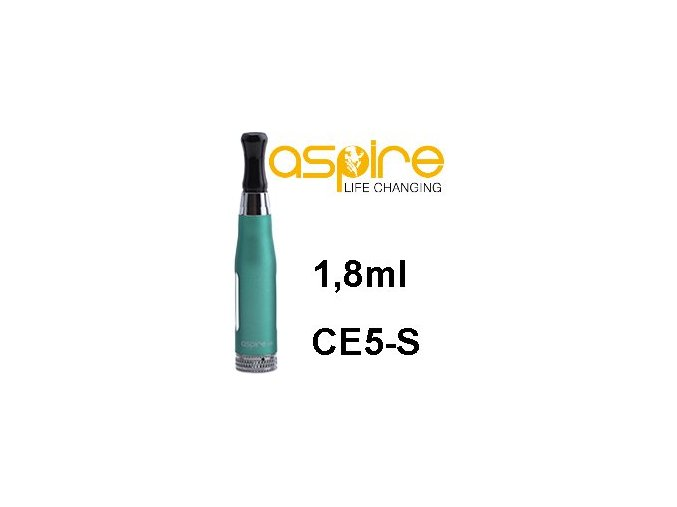 aSpire CE5-S BDC Clearomizer 1,8ohm 1,8ml Green