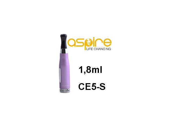 aSpire CE5-S BDC Clearomizer 1,8ohm 1,8ml Purple