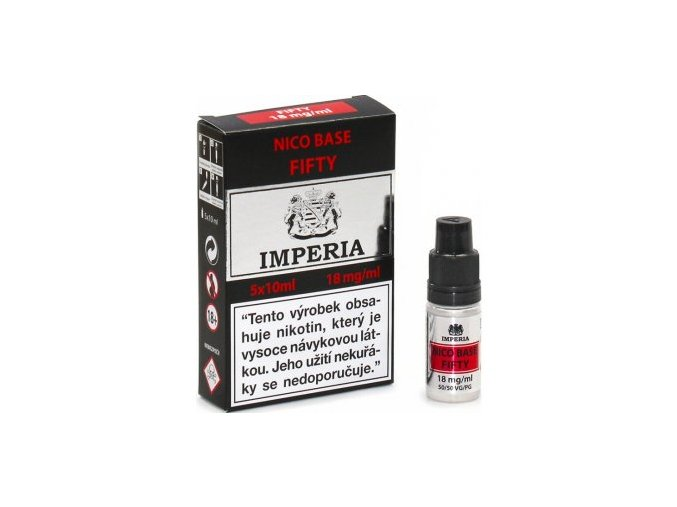 Báze Fifty Booster Imperia 5x10ml 18mg