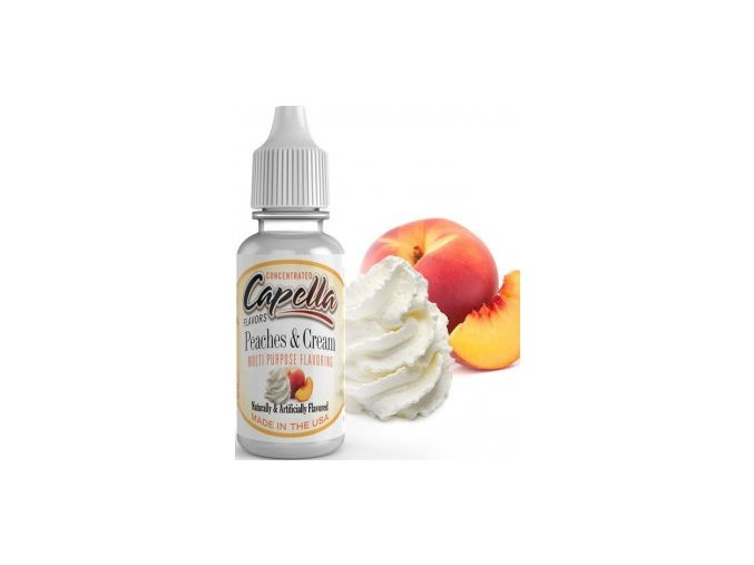 Capella 13ml Peaches and Cream