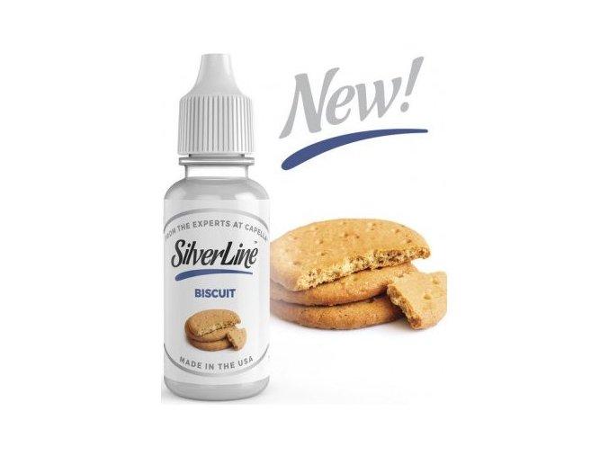 capella silver line 13ml biscuit maslove susenky