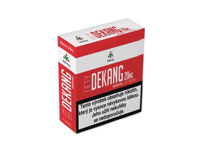 nikotinova baze dekang fifty 5x10ml pg50vg50 20mg