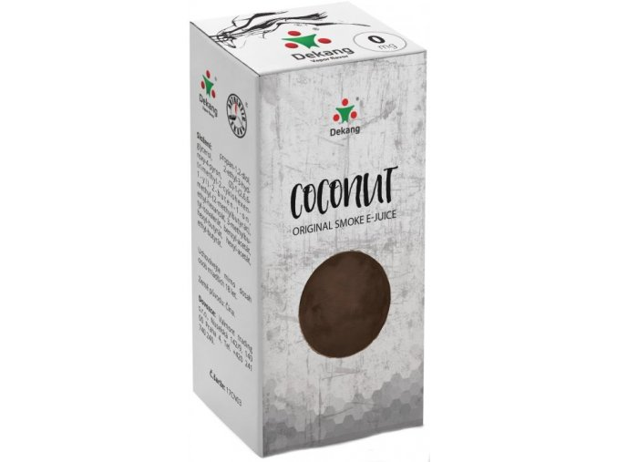 dekang coconut 10ml 0mg kokos