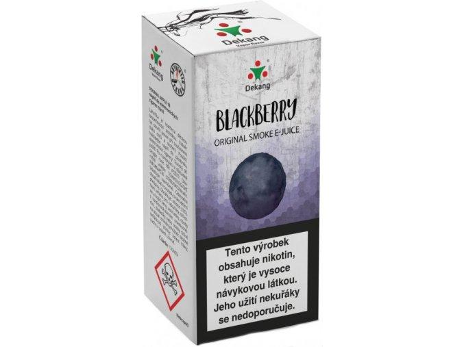 dekang blackberry 10ml ostruzina
