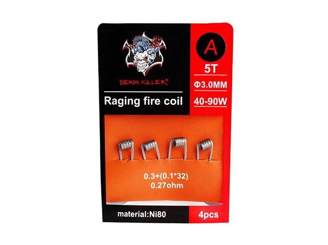 50135 demon killer raging fire predmotane spiralky ni80 0 27ohm 4ks typ a