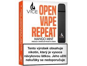VICE elektronická cigareta Mango Mint 20mg 3Pack