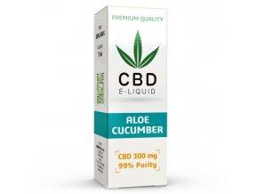 CBD Vape Liquid - 10ml - 300mg - 3% - Aloe Cucumber