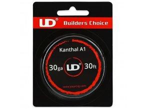 UD Kanthal - odporový drát - 30GA - 0,25mm - 9m