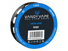 Vandy Vape Ni80 - Nichrom (Mesh 100) - odporový drát - 1,5m