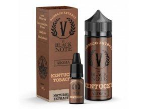 V by Black Note - Příchuť - Kentucky Tobacco (Tabák Kentucky) - 10ml