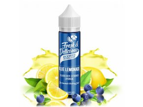 Dexters Juice Lab Fresh & Delicious - Shake & Vape - Blue Lemonade (Borůvková citronáda) - 20ml