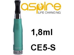 aSpire CE5-S BDC Clearomizer 1,8ohm 1,8ml Green