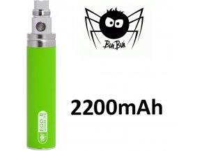 2192 buibui gs ego ii baterie 2200mah green
