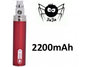 2195 buibui gs ego ii baterie 2200mah red