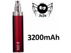 2891 buibui gs ego iii baterie 3200mah red
