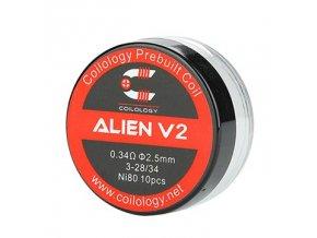 63266 1 coilology alien v2 predmotane spiralky ni80 0 34ohm 10ks