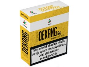 nikotinova baze dekang dripper 5x10ml pg30vg70 6mg