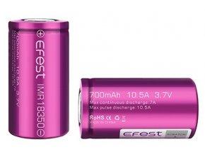 eFest baterie typ 18350 700mAh 10,5A