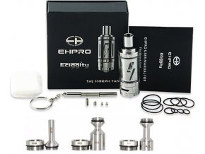 14564 ehpro morph rta clearomizer silver