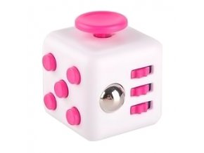 fidget-spinner-cube-bily-ruzovy