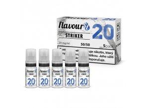 flavourit striker 50 50 20mg booster 5x10ml