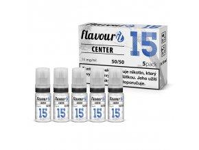 flavourit center 50 50 15mg 5x10ml