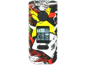 49970 hugo vapor rader mage 218w grip easy kit graffiti