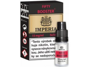 fifty booster cz imperia 5x10ml pg50vg50 15mg