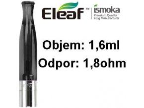 1988 ismoka eleaf bcc ct clearomizer 1 6ml 1 8ohm black