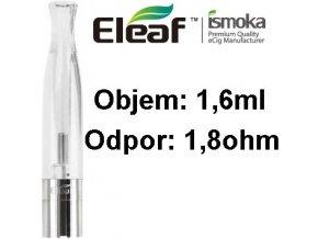 1994 ismoka eleaf bcc ct clearomizer 1 6ml 1 8ohm clear