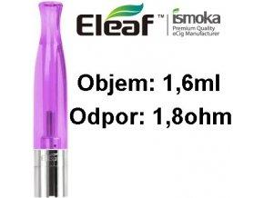 2003 ismoka eleaf bcc ct clearomizer 1 6ml 1 8ohm purple