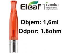 2006 ismoka eleaf bcc ct clearomizer 1 6ml 1 8ohm red