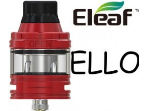 7952 ismoka eleaf ello 2ml clearomizer red
