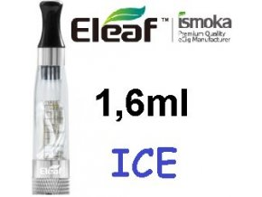 2261 ismoka eleaf ice clearomizer 2 4ohm 1 6ml clear