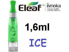 2264 ismoka eleaf ice clearomizer 2 4ohm 1 6ml green