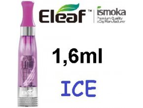 2267 ismoka eleaf ice clearomizer 2 4ohm 1 6ml purple