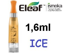 2273 ismoka eleaf ice clearomizer 2 4ohm 1 6ml yellow