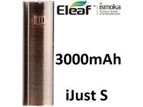 7007 ismoka eleaf ijust s baterie 3000mah brushed bronze