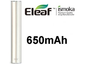 1445 ismoka eleaf ikit automaticka baterie 650mah silver