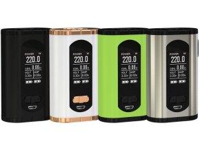 34428 ismoka eleaf invoke tc 220w easy kit grip greenery