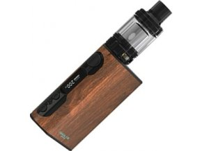 6350 ismoka eleaf istick qc tc 200w grip 5000mah full kit wood grain