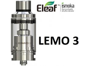 3443 ismoka eleaf lemo 3 clearomizer full kit silver