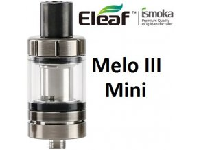 7088 ismoka eleaf melo 3 mini clearomizer brushed black silver
