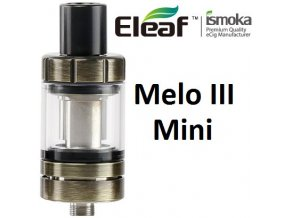 7091 ismoka eleaf melo 3 mini clearomizer brushed gunmetal