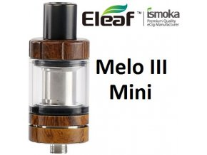 7100 ismoka eleaf melo 3 mini clearomizer wood grain