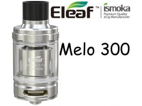 5531 ismoka eleaf melo 300 clearomizer 6 5ml silver