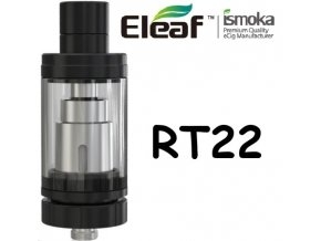 5222 ismoka eleaf melo rt 22 clearomizer black