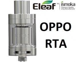 8942 ismoka eleaf oppo rta clearomizer silver