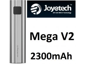 3719 joyetech ego one mega v2 baterie 2300mah silver